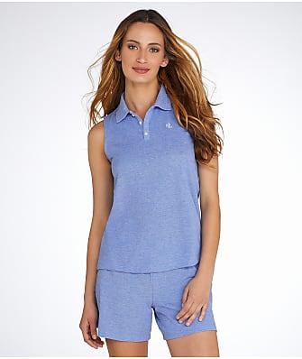 Lauren Ralph Lauren Piqué Knit Pajama Set