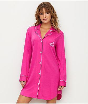 Lauren Ralph Lauren Plus Size Hammond Knits Sleep Shirt