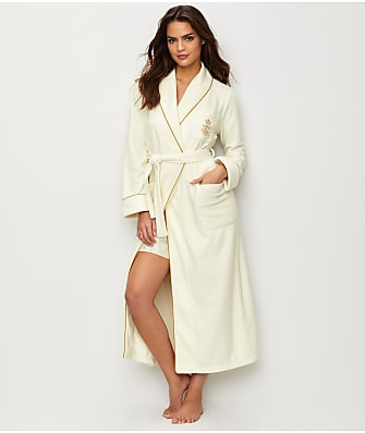 Lauren Ralph Lauren Long Shawl Collar Robe
