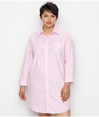 Lauren Ralph Lauren Heritage Essentials Woven Sleep Shirt