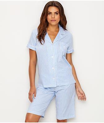 Lauren Ralph Lauren Cotton Knit Bermuda Pajama Set