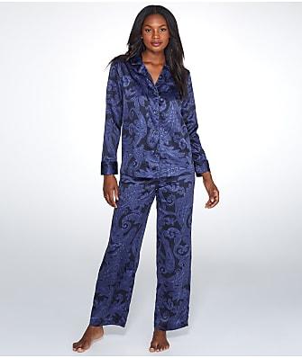 Lauren Ralph Lauren Paisley Satin Pajama Set