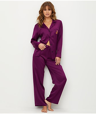 Lauren Ralph Lauren Holiday Satin Pajama Set