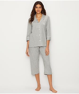 Lauren Ralph Lauren Further Lane Capri Knit Pajama Set