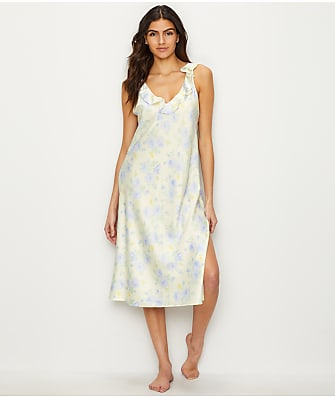 Lauren Ralph Lauren Floral Satin Night Gown