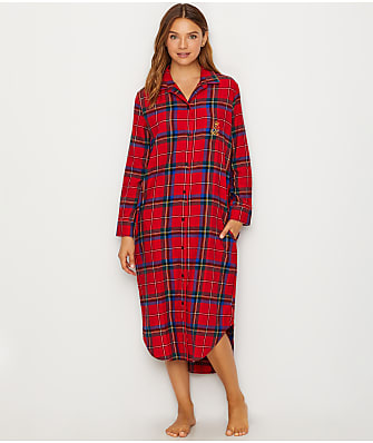 Lauren Ralph Lauren Classic Flannel Night Gown