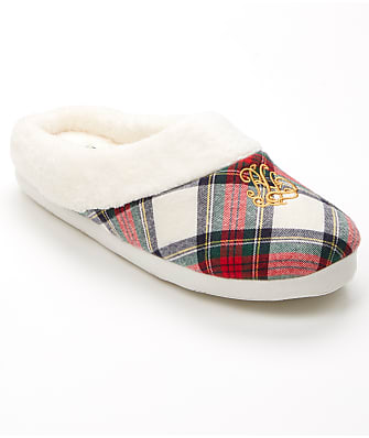 Lauren Ralph Lauren Cotton So-Soft Fleece Slippers