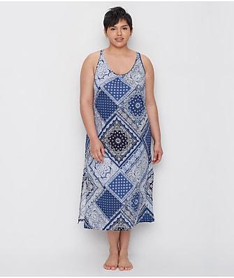 Lauren Ralph Lauren Plus Size Bandana Knit Ballet Gown