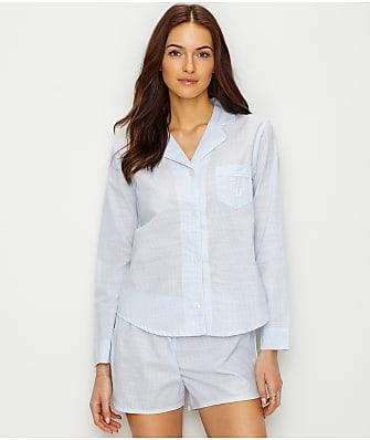 Lauren Ralph Lauren Stripe Woven Pajama Set