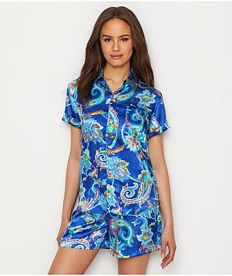 Lauren Ralph Lauren Satin Woven Pajama Set