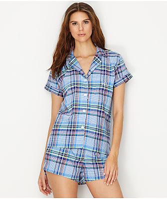 Lauren Ralph Lauren Plaid Woven Pajama Set
