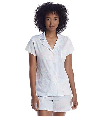 Lauren Ralph Lauren Mint Paisley Woven Boxer Pajama Set