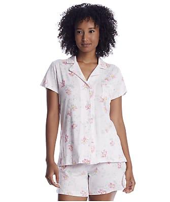 Lauren Ralph Lauren Pink Floral Woven Boxer Pajama Set