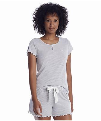 Lauren Ralph Lauren Henley Knit Boxer Pajama Set