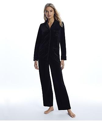 Lauren Ralph Lauren Black Velvet Pajama Set