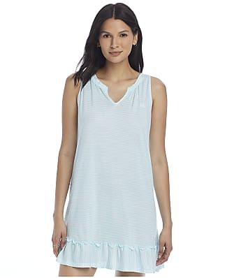 Lauren Ralph Lauren Sleeveless Flounce Knit Short Gown