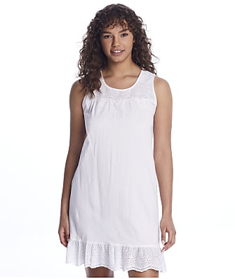 Lauren Ralph Lauren Cotton Knit Short Gown