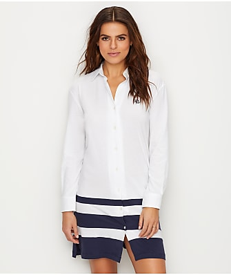 Lauren Ralph Lauren His Shirt Knit Sleep Shirt