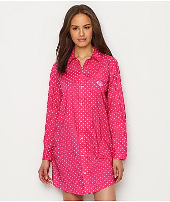 Lauren Ralph Lauren Classic Woven Sleep Shirt