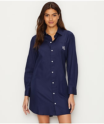 Lauren Ralph Lauren Classic Woven Sleep Shirt