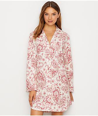 Lauren Ralph Lauren Paisley Print Knit Sleep Shirt