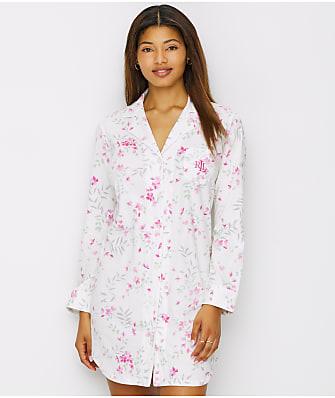 Lauren Ralph Lauren Floral Knit Sleep Shirt