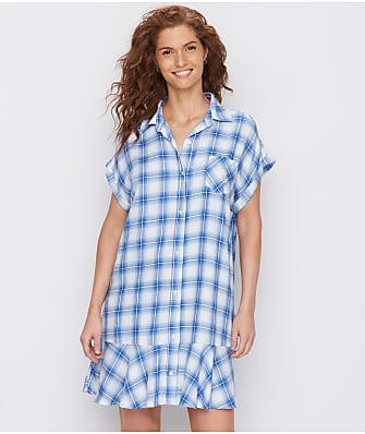 Lauren Ralph Lauren Flounce Woven Sleep Shirt