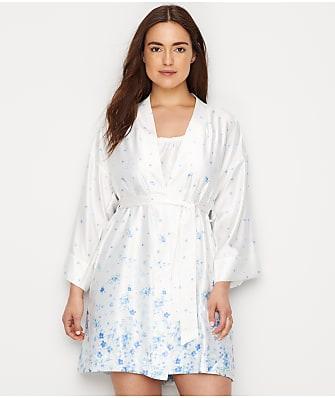 Lauren Ralph Lauren Satin Floral Kimono Robe