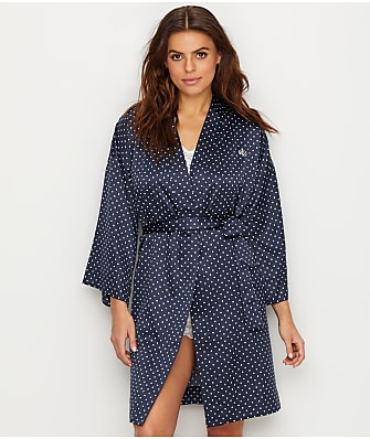 Lauren Ralph Lauren Kimono Satin Robe