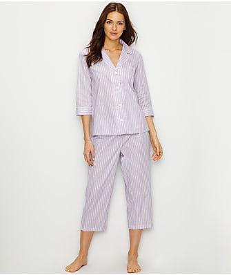 Lauren Ralph Lauren Classic Woven Pajama Set