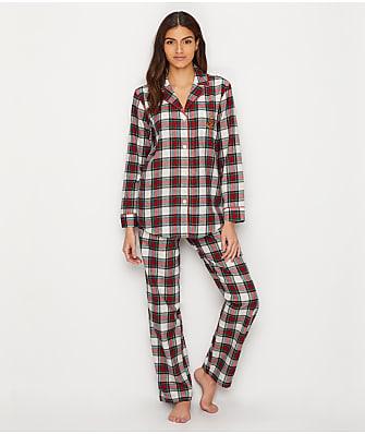 Lauren Ralph Lauren Classic Flannel Pajama Set