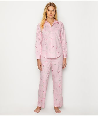 Lauren Ralph Lauren His Shirt Sateen Pajama Set