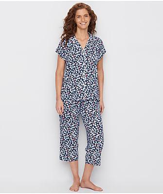 Lauren Ralph Lauren Classic Capri Knit Pajama Set