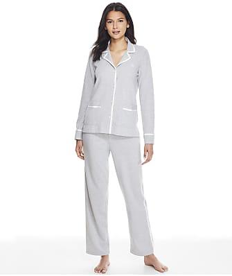 Lauren Ralph Lauren Notch Collar Knit Pajama Set