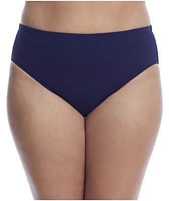 Leilani Plus Size Solids Smoothing Bikini Bottom