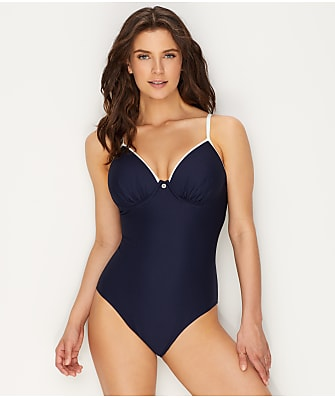 Lepel Plain Sailing Plunge Underwire One-Piece