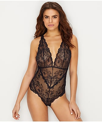Lily of France Lace Plunge Bodysuit