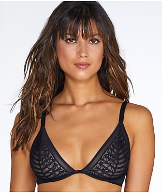 Lily of France Sheer Striped Bra