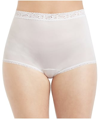 Lorraine Lace Trim Full Brief 3-Pack