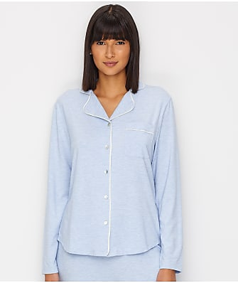 Lusome Donna Notch Collar Knit Sleep Top