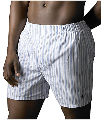 Polo Ralph Lauren Big and Tall Woven Boxer 2-Pack
