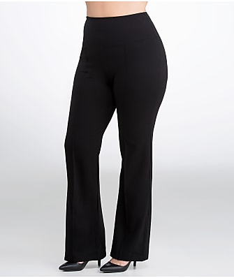 Lyssé Plus Size Medium Control Ponte Wide Leg Pants