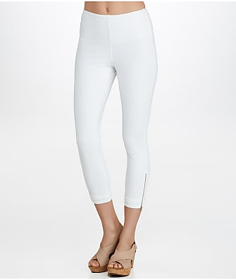 Lyssé Medium Control Cuffed Denim Cropped Leggings