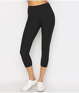 Lyssé Medium Control Flattering Cropped Cotton Leggings