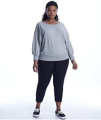 Lyssé Plus Size Medium Control Flattering Cropped Leggings