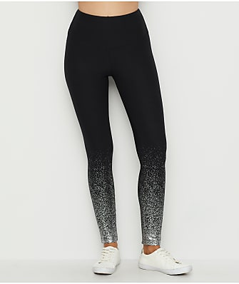 Lyssé Flattering Cotton Foil Medium Control Leggings