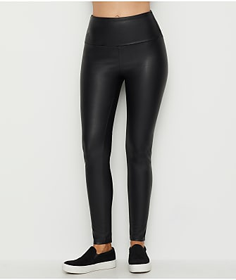 Lyssé Texture Faux Leather Medium Control Leggings