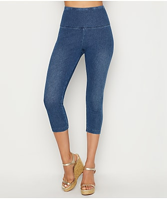 Lyssé Medium Control Denim Capri Leggings