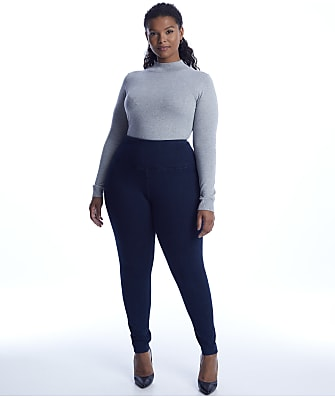 Lyssé Plus Size Medium Control Denim Leggings