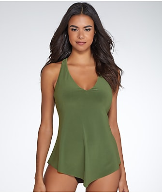 Magicsuit Solid Taylor Tankini Top DD-Cups